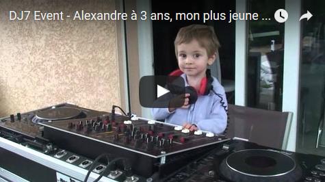 DJ7 Event – Alexandre, mon fils à 3 ans, mon plus jeune élève – Grenoble